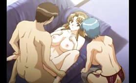 Group of Hot Hentai Lesbians Fool Around with Each Other