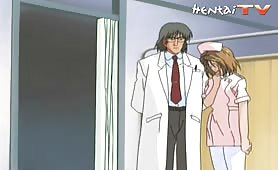 Hot Young Hentai Nurse Gets Tied Up by the Horny Doctor